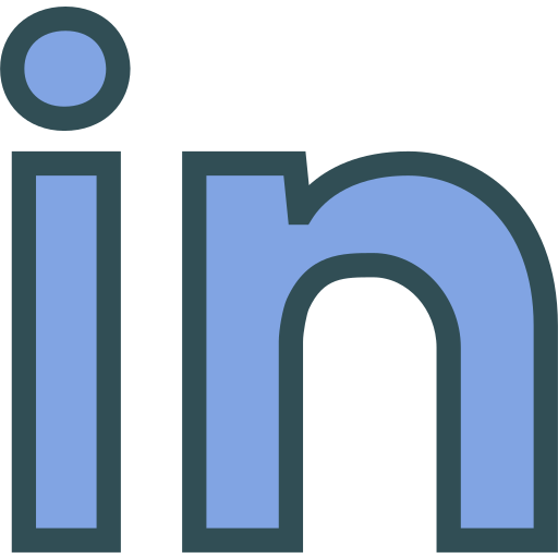 brand, linkedin, logo, network, social icon