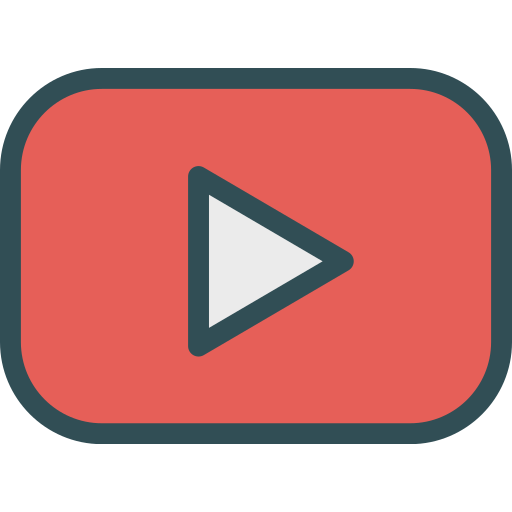 brand, logo, network, social, youtube icon