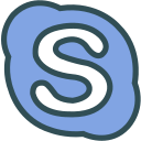 brand, logo, network, skype, social