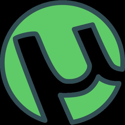 brand, logo, network, social, utorrent icon