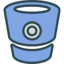 bitbucket, brand, logo, network, social icon