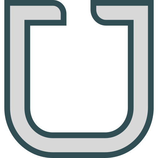 Brand, logo, network, social, uber icon - Free download