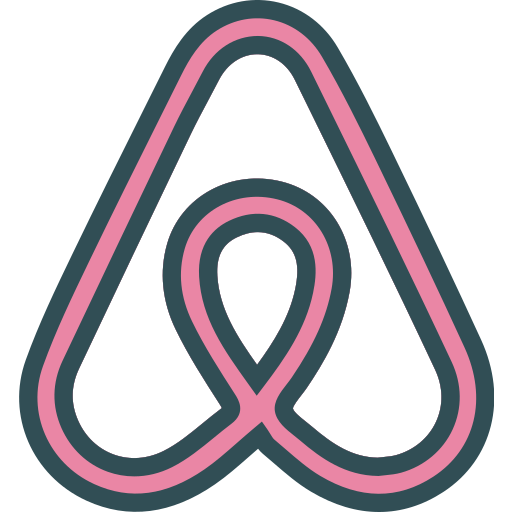 Airbnb, brand, logo, network, social icon - Free download