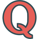 brand, logo, network, quora, social icon