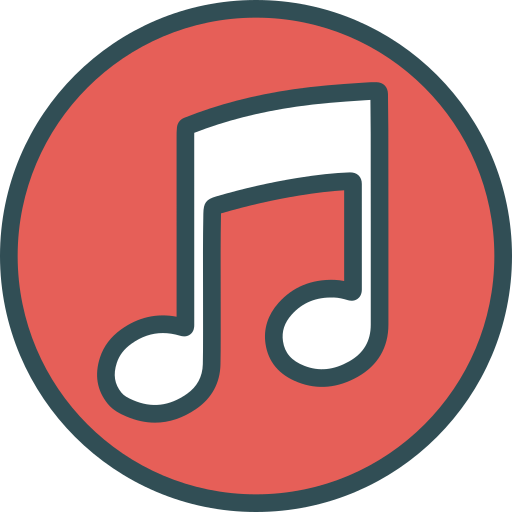 brand, logo, music, network, social icon