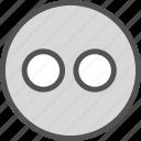 brand, flickr, logo, network, social icon