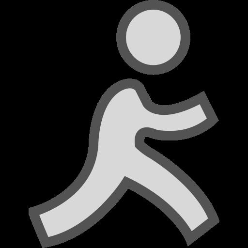 aim, brand, logo, network, social icon