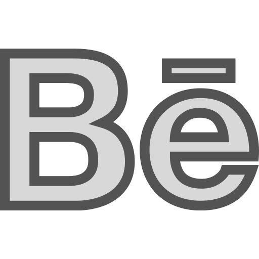 behance, brand, logo, network, social icon