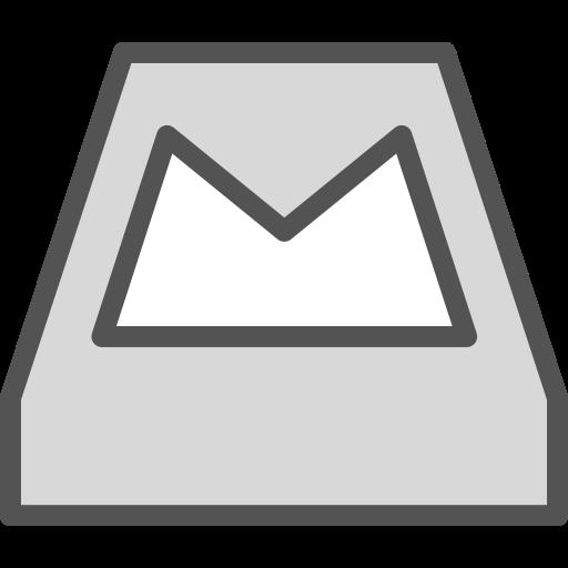 brand, logo, mailbox, network, social icon