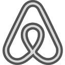 airbnb, brand, logo, network, social