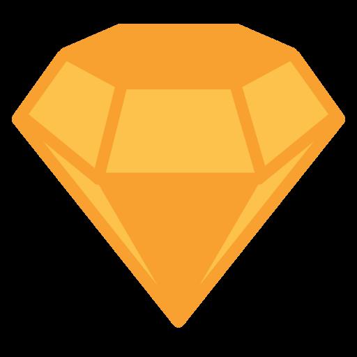 brand, diamond, jewel, precious, stone icon