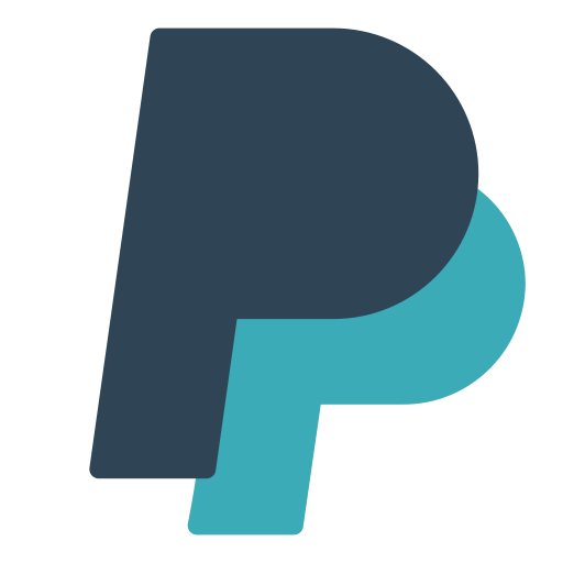 brand, letter, p, paypal icon