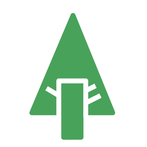 brand, forest, nature, tree icon