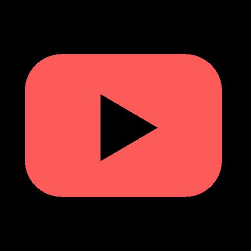 media, play, social, video, youtube icon