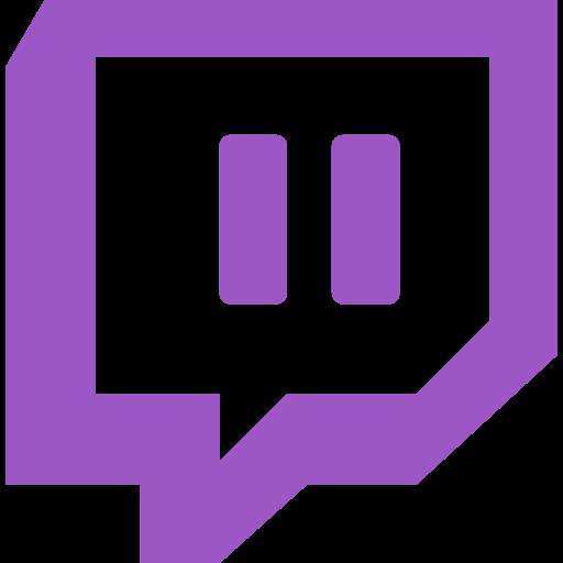 brand, logo, network, social, twitch icon