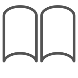 book, brand, paper, shape icon