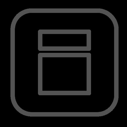brand, figure, shape, square icon