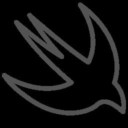 animal, bird, brand, figure, ios, swift icon