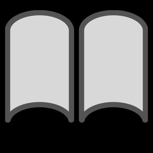 book, brand, paper, shape icon