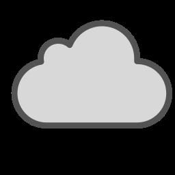 brand, cloud, internet, shape, sky, storage icon