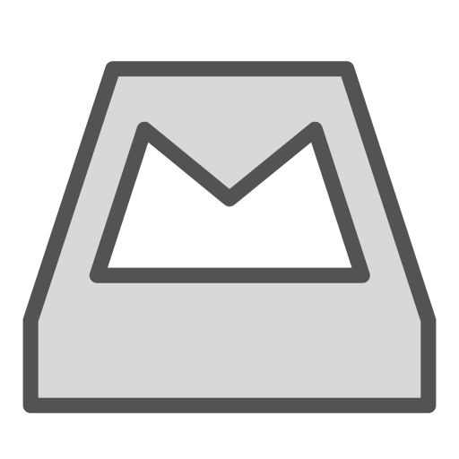 brand, container, mail, storage icon