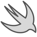 animal, bird, brand, figure, ios, swift icon