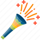 blowers, brazil, carnival, instrument, music, party, samba icon