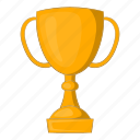 cup, golden, award, trophy