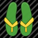 flip, green, ecology, footwear