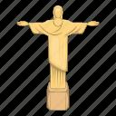 jesus, statue, brazil, travel