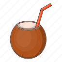 cocktail, coconut, food, fruit icon