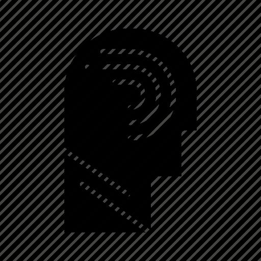 access, human, manipulate, mind, switch icon
