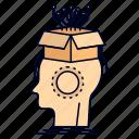 artificial, brain, digital, head, sousveillance