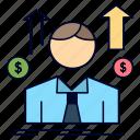 avatar, business, employee, man, sales