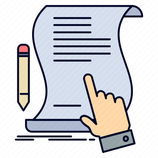 Agreement, application, contract, document, paper, sign icon - Download on Iconfinder