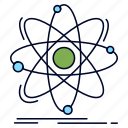 atom, chemistry, nuclear, physics, science icon