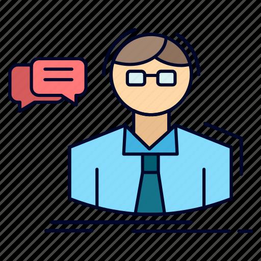 Professor, school, scientist, student, teacher icon - Download on Iconfinder