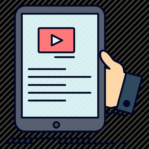 forum, online, seminar, tutorial, webinar icon