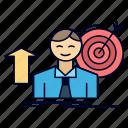 achieve, growth, success, target, user
