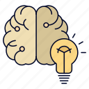 brain, bulb, business, idea, mind