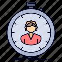 fast, girl, speed, stopwatch, timer