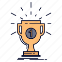 award, cup, prize, reward, victory icon