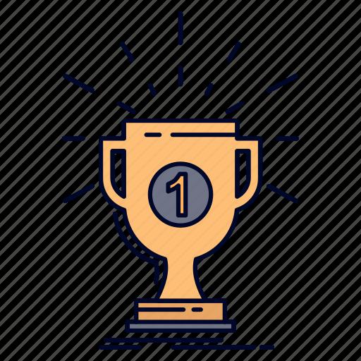 Award, cup, prize, reward, victory icon - Download on Iconfinder