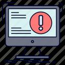 alert, antivirus, attack, computer, virus icon