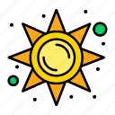 brightness, light, sun