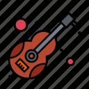 guitar, instrument, music, musical, violin