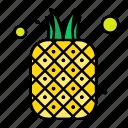 food, fruit, fruits, natural, pineapple