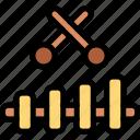 brazilian, carnival, music, xylophone icon