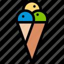 brazilian, carnival, cream, ice icon