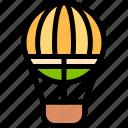 air, balloon, brazilian, carnival, hot icon